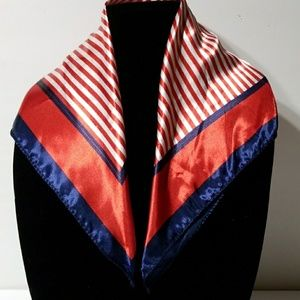 Blue, Red & White Scarf